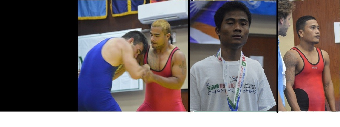 Chuukese Wrestlers Compete at Oceania